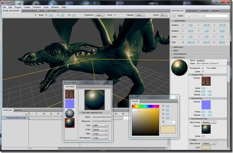 Flare3D Studio – Sneak peek « Flare3D – Blog | Everything about Flash | Scoop.it