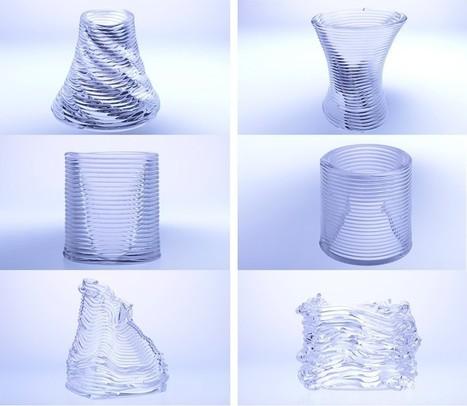 mediate matter + MIT glass lab pioneering progressive 3D glass printing | laurent | Scoop.it