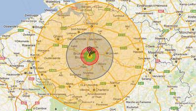 Si vous désirez voir l'effet d'une bombe atomique sur votre ville | Urbanisme | Scoop.it