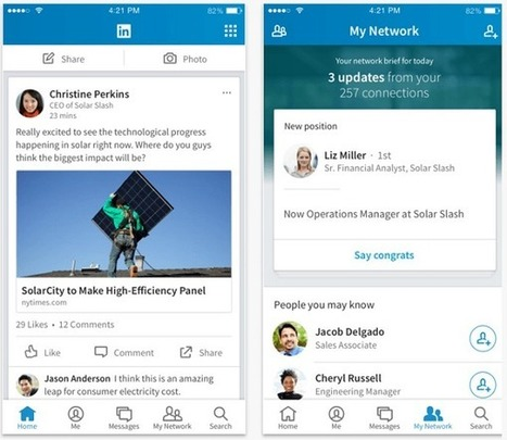LinkedIn Mobile: What Marketers Need to Know | Linkedin for Business Marketing | Scoop.it