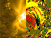 NASA - Heliophysics Nugget: Colorful Science Sheds Light on Solar Heating | Visualization in Science & Education | Scoop.it