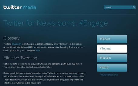 Twitter for Newsrooms: Effective tweeting | Social media kitbag | Scoop.it