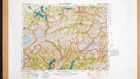 Maps and the 20th Century Drawing the Line – Map Exhibition in London – The British Library | Enseigner en section européenne | Scoop.it
