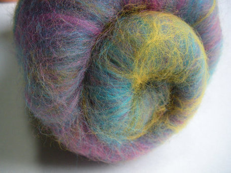 Fiber Batt for Spinning or Felting  Hand by AuntPeggysCloset | CraftsForRuth | Scoop.it