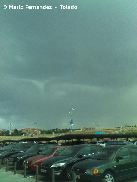 Los chubascos y tormentas de ayer en imágenes - Hoy Digital | Gestión de riesgos de desastres en el Uruguay y la región. | Scoop.it