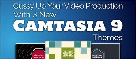 Gussy Up Your Video Production With 3 New Camtasia 9 Themes | eLearning Templates | Scoop.it