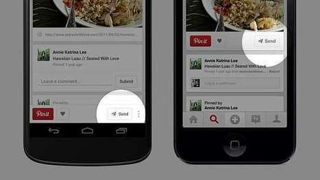 Pinterest: Now Directly Send Pins to Your Friends | On Secret Hunt | Scoop.it