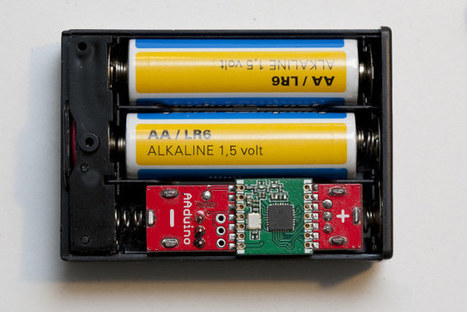 AAduino Arduino Compatible Board Fits Neatly into an AA Battery Holder | Tech News | Scoop.it