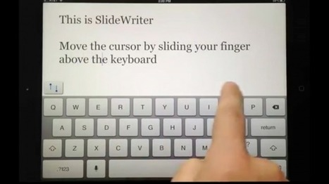 SlideWriter Hopes To Highlight Ease Of Text Editing On The iPad | iPads in Education Daily | Scoop.it