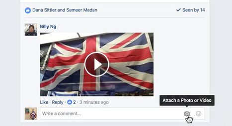 Comment partager une vidéo via un commentaire Facebook ? | CommunityManagementActus | Scoop.it