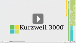 K3000 v13: Kurzweil Education Systems- Assistive Technology, Text to Speech Literacy Software | UDL & ICT in education | Scoop.it