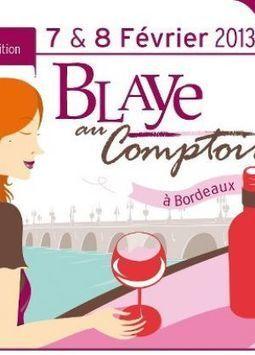 Blaye au Comptoir, le 06/02/2013 - Mon Vigneron | Agenda du vin | Scoop.it