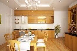 Nên chọn tủ bếp gỗ tự nhiên hay tủ bếp gỗ công nghiệp | Phong thủy tủ bếp gia đình | Scoop.it