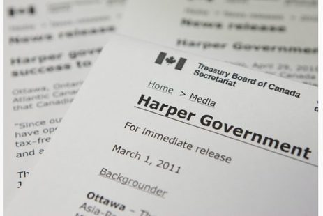 Tories rebrand 'Government of Canada' as 'Harper Government' | Toronto Star | political shenanigans in Canada | Scoop.it