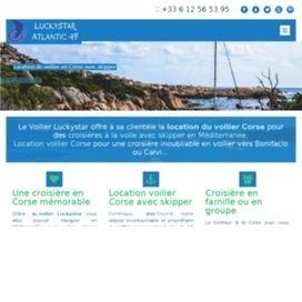 Location d'un voilier avec skipper en Corse pour la Méditerranée | Location voilier Corse avec skipper | Scoop.it