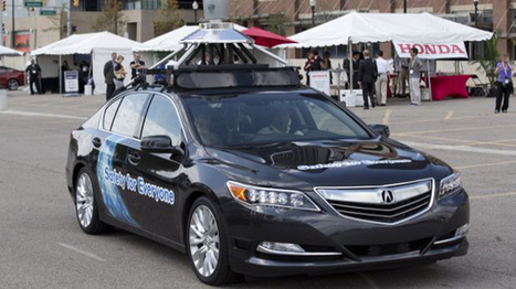 ¡Extraordinario! Honda presentó un carro que se conduce solo | Techno World | Scoop.it