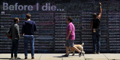 'Before I die' wall coming to Toronto this summer | Life @ Work | Scoop.it