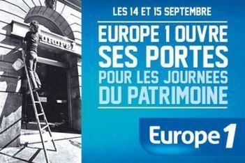 Journées du patrimoine : Europe 1 et Virgin Radio ouvrent leurs portes | Radioscope | Scoop.it