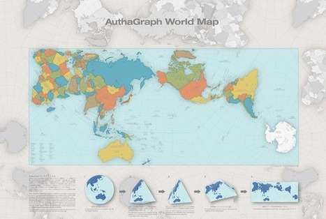 A More Accurate World Map Wins Prestigious Japanese Design Award | AP Human Geography | Scoop.it