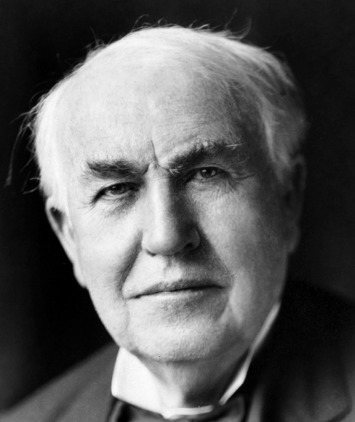 """""""Opportunity is missed by most people because it is dressed in overalls and looks like work.""""  Thomas Edison   Edison and Education Technology   Scoop.it"""
