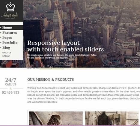 25 Free Premium WordPress Themes 2013 | Best Design Tutorials | Template & Webdesign | Scoop.it