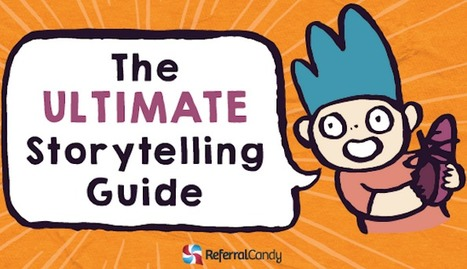 A Visual Guide to Telling Compelling Stories for Your Brand [Infographic] | World's Best Infographics | Scoop.it