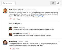 Google agrega sistema de comentarios de Google+ en Blogger | Emprendedor en la Red | Scoop.it
