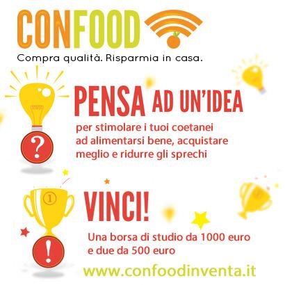 CONFOOD INVENTA: alla ricerca di idee innovative per alimentarsi bene e sprecare meno | La Qualità e il Rispetto | Scoop.it