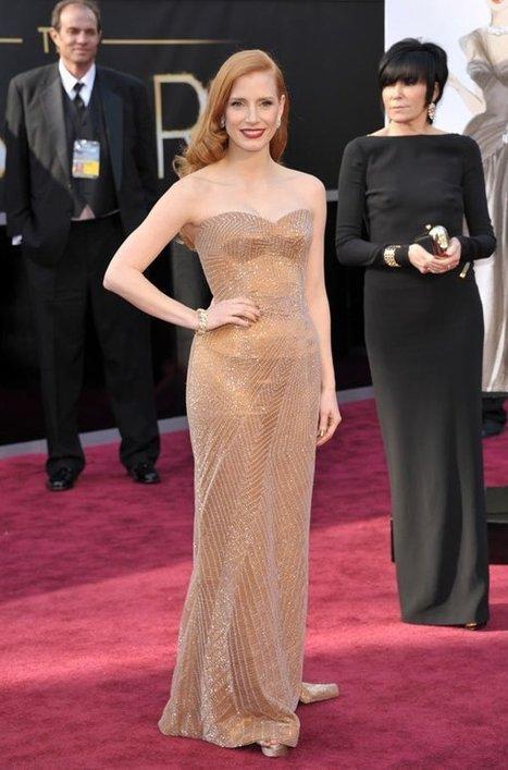 Oscars Best Dressed 2013 -- Kristen Stewart, Jennifer Lawrence & More | Cinema | Scoop.it