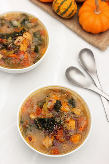 Fall Detox Soup - Gluten-free + Vegan | My Vegan recipes | Scoop.it