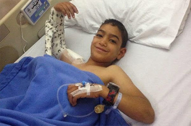 Refugee Child in Jordan has Orthopedic Surgery on Shoulder   Total Hip Replacement Surgery Cost in India   Scoop.it