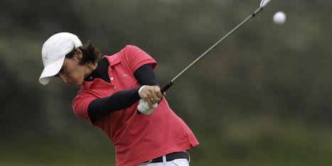 Golf : Anne-Lise Caudal dans son jardin | Nouvelles du golf | Scoop.it