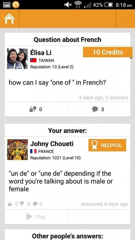 Apprendre les langues via Linqapp et sa communauté internationale - SlyDnet   Les tice dans l'éducation   Scoop.it