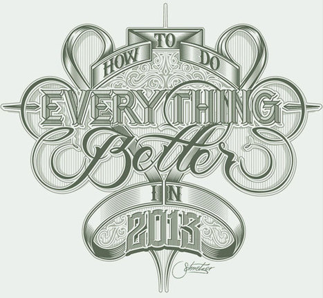 20 Excellent Examples of Typography Sketches for Designers Inspiration - DJDESIGNERLAB | Beautiful and creative logos | Scoop.it