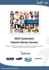 2013 Australian School Library Survey - Softlink | Student Learning through School Libraries | Scoop.it