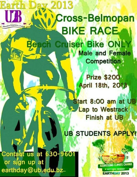 Earth Day Bike Race Tomorrow | bancoideas | Scoop.it
