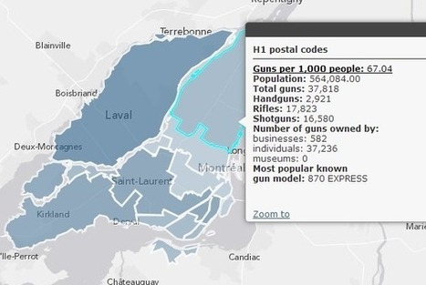 Visualizing gun data for Montreal | Montreal Gazette | Open Government Daily | Scoop.it