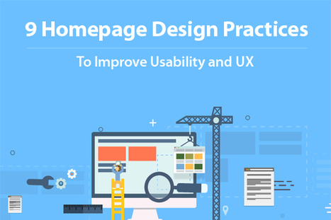 9 Homepage Design Practices to Improve Usability and UX   Best Website Design Company Chandigarh   Scoop.it