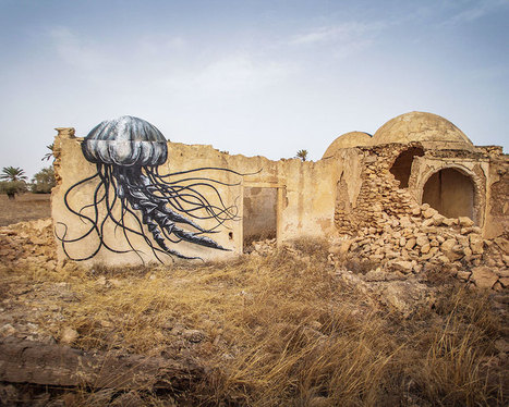 150 Street Artists From 30 Countries Turn Old Tunisian Village Into Outdoor Art Gallery | Artoy | Scoop.it