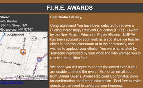Media Literacy Project is on F.I.R.E. for education and equity! | Media Literacy Project | Los Storytellers | Scoop.it