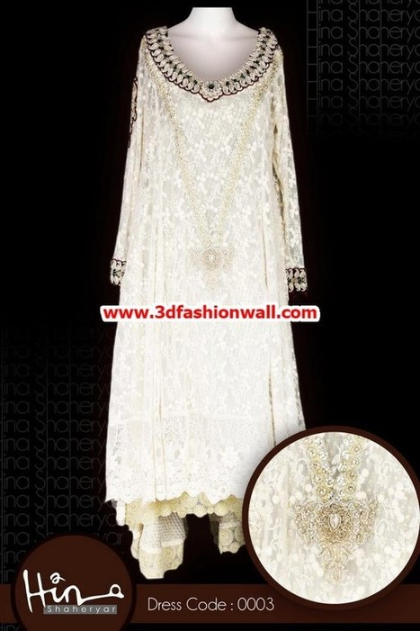 Hina Shaheryar Party Wear Collection 2013 For Women | Pakistani dresses | Scoop.it