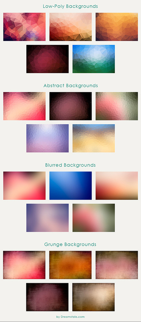Free Backgrounds | 20 Modern Styles Bundle Mix | Design Freebies & Deals | Scoop.it