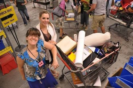 Teachers getting ready for school can pick up free supplies at MFTA | Brooklyn By Design | Scoop.it