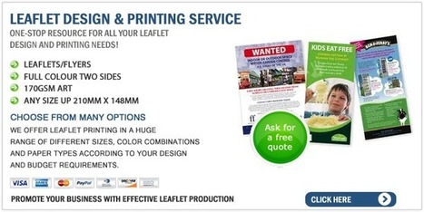 Using flyers to promote your business | printing-specialists.co.uk | I Found This in L.A. | Scoop.it
