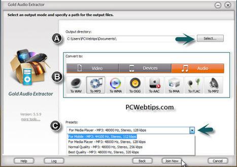 4 Pasos para extraer el Audio de Cualquier Vídeo|PCWebtips.com | #TRIC para los de LETRAS | Scoop.it