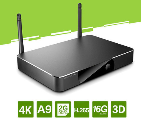 Kaiboer F5 Plus 4K Android TV Box Powered by Actions Semi ATM7039S SoC | Embedded Systems News | Scoop.it