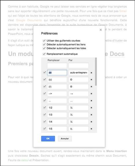 Google Documents : 10 astuces pour le traitement de texte | Bureautique pratique | Scoop.it