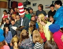 School celebrates Dr. Seuss, legacy | Educational Leadership and Technology | Scoop.it