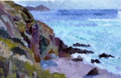 Artwork: Cornish Cove - Open House Art | Art - Crafts - Design | Scoop.it