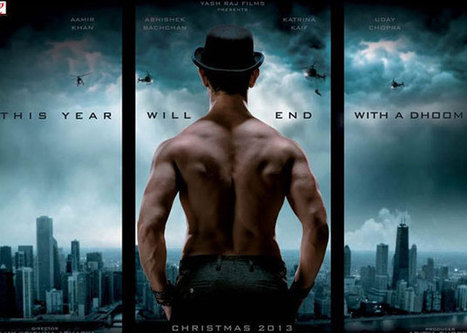 Dhoom 3 First Look Revealed - Amir Khan's Body in Dhoom 3 | Youth Drum >> Drumming Out Lout | Scoop.it